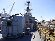 USS Cassin Young Mark 25 fire control radar and awards