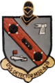 USS Detector (MSO-429) insignia, in 1970 (NH 72442-KN).png