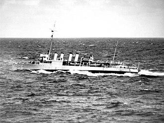 USS Humphreys (DD-236) - USS Humphreys (DD-236) in the mid-1930s