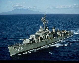 <i>Allen M. Sumner</i>-class destroyer Class of American destroyers