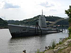 USS Requin SS-481 as a museum ship.