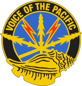 516th Signal Brigade - Image: US Army 516th Signal Brigade DUI