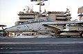 US Navy 030314-N-1810F-011 an F-14A Tomcat launches from the flight deck of USS Kitty Hawk (CV 63).jpg