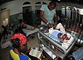 US Navy 100206-N-6214F-022 Children recover from injuries at the Milot hospital in cap-Haitian, Haiti operated by the Crudem Foundation.jpg
