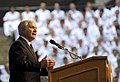 US Navy 100407-D-7203C-011 Secretary of Defense Robert M. Gates delivers remarks at the U.S. Naval Academy in Annapolis, Md.jpg