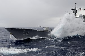 US Navy 111224-N-RG587-046 Waves break over the USS Bunker Hill.jpg