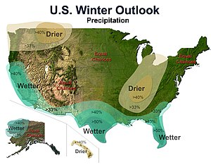 2009–10 North American winter - Precipitation Outlook