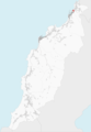 Ubicación de A Gafa en el municipio de Porto do Son.png