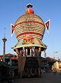 Udupi - Scenes of Sri Krishna Temple, chariot2.jpg