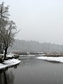 Ukraine Irpen 2010. First snow. River Irpen.jpg