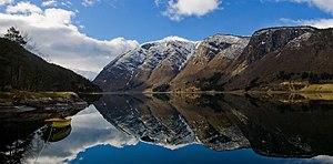 Ulvikfjord in Western Norway