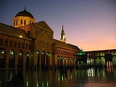 Ummayad Mosque at night