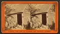 Uncle Jack and his home, from Robert N. Dennis collection of stereoscopic views.png