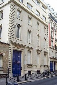 Union libérale israélite de France, 24 rue Copernic, Paris 16.jpg