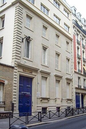 1980 Paris synagogue bombing - The synagogue, 24 Copernic Street, Paris
