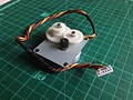 Unipolar stepper motor with reduction gear mechanism.jpg