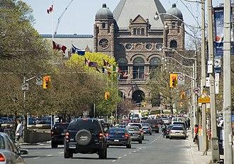 University Avenue (Toronto) - Image: University