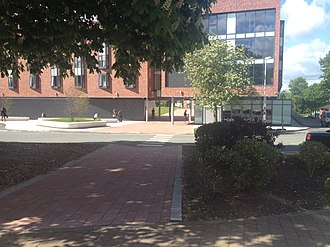 University of Chester - Image: University of Chester campus, Grosvenor House