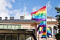 University of Helsinki City Centre Campus Pride Flags 2020-09-10.jpg