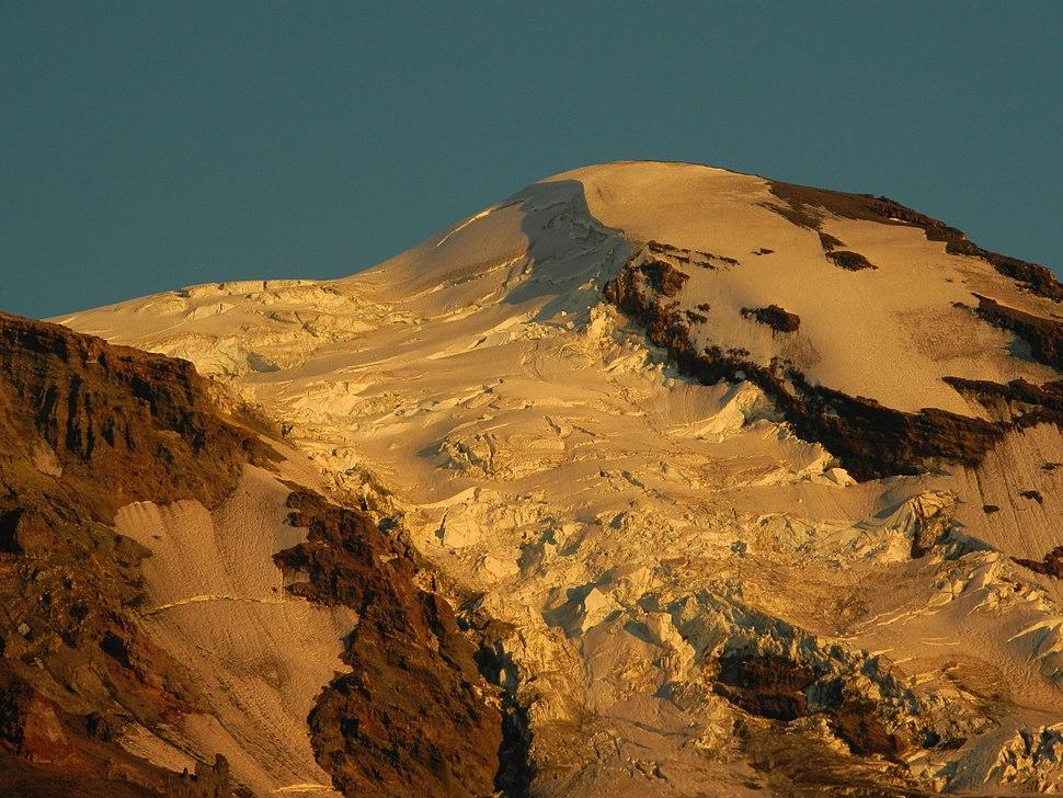 Upper Portion of the Adams Glacier