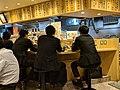 Using cellphones at dinner, Tokyo (東京) (41707130552).jpg