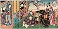 Utagawa Kunisada II - Cat Delivering a Love Letter in Cherry-blossom Season.jpg