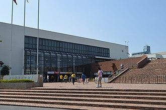 Brex Arena Utsunomiya - Image: Utsunomiya city gymnasium a