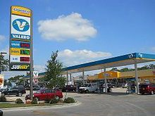 This is the flagship Valero fueling station located in San Antonio, Texas.