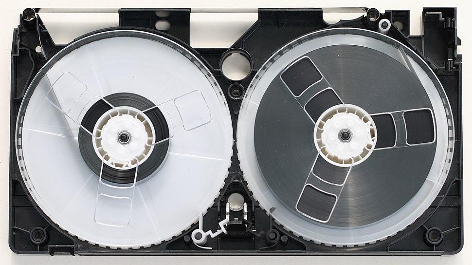 VHS cassette tape 12