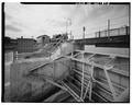 VIEW SOUTHWEST, Crab and steam house - Kaukauna Lock and Dam, Fox River at Canal Street, Kaukauna, Outagamie County, WI HAER WIS,44-KAUK,3-3.tif