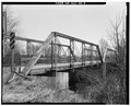 VIEW TO NORTH NORTHEAST. - Ten Eyck Road Bridge, Spanning Sugar River, Brodhead, Green County, WI HAER WIS,23-BROD.V,1-4.tif