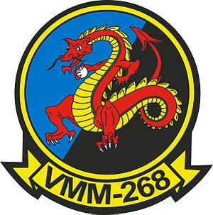 VMM-268 - VMM-268 insignia