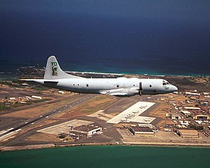 Patrol Squadron 4 (United States Navy) - VP-4 P-3C over Marine Corps Base Hawaii in 2010