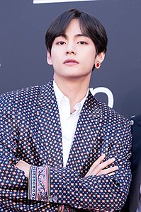 V on the Billboard Music Awards red carpet, 1 May 2019 02.jpg