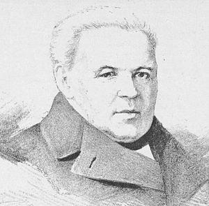 Václav Kliment Klicpera - Portrait of Václav Kliment Klicpera by Jan Vilímek, 1883