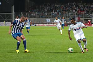 Jordan Ayew - Ayew playing for Olympique de Marseille in 2013