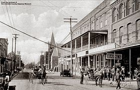 Downtown Valdosta Around 1900