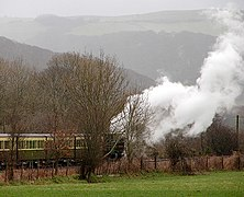 Vale of Rheidol Railway train at Rhiwarthen - geograph.org.uk - 731924.jpg
