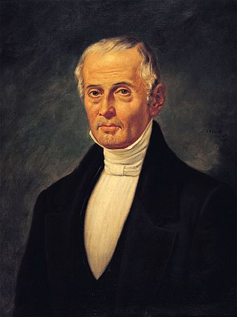 Liberal Valentin Gomez Farias, who served as Santa Anna's vice president and implemented a liberal reform in 1833, was an important political player in the era of the Mexican-American War. Valentin Gomez Farias, portrait.JPG