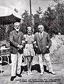 Vedres Márk, Ladányi Ilona és Csók István 1936 nyarán (Pesti Napló, 1937).jpg