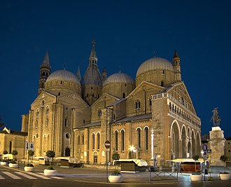 Basilica of Saint Anthony of Padua - The Basilica of Sant'Antonio di Padova.