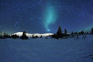 Trysil - The rare conjunction of Venus, Jupiter created stunning night skies in Trysil Norway