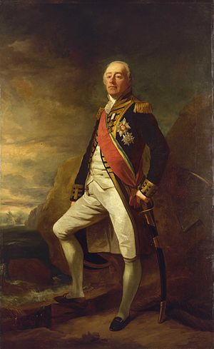 James Saumarez, 1st Baron de Saumarez - Portrait of Vice-Admiral James Saumarez, NMM