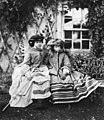 Victoria, the Princess Royal, later Empress of Germany (1840-1901), and Princess Alice, later Grand Duchess of Hesse and by Rhine (1843-78).jpg