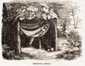 Vida y viajes de Cristóbal Colón-1852-Cabana india y hamacas 01.png
