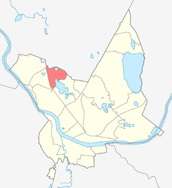 Location of Viduspoguļanka