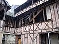 Vieux tours, quartier Saint Pierre des Corps,32 rue Blanqui, cour intérieure.jpg