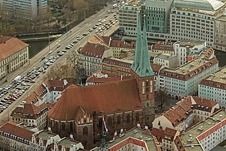 Alt-Berlin - Image: View Berlin TV Tower Jan 2015 img 4