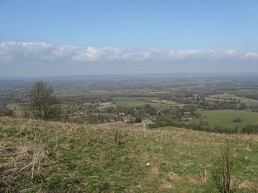 View NE from Ditchling Beacon - geograph.org.uk - 1771971