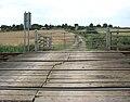 View across level crossing - geograph.org.uk - 1442742.jpg